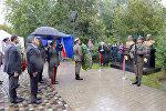 Министр обороны Азербайджана принял участие в открытии воздвигнутого в Варшаве монумента в память о военных деятелей периода АДР