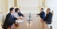 İlham Əliyev ATƏT Parlament Assambleyasının sədrini qəbul edib
