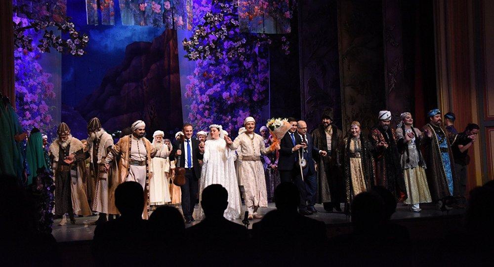 Опера Лейли и Меджнун, фото из архива