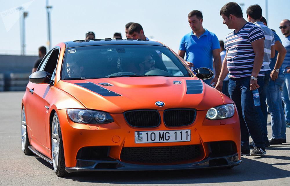 BMW Festival - Фестиваль автомобилей БМВ в Баку