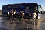 Карабах отправился на первый матч Лиги чемпионов