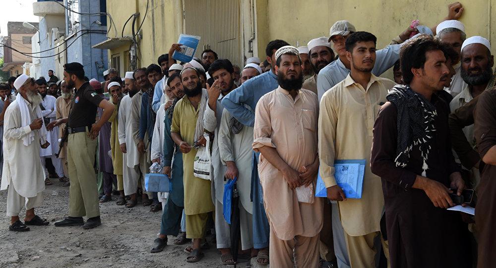 Афганские беженцы, фото из архива