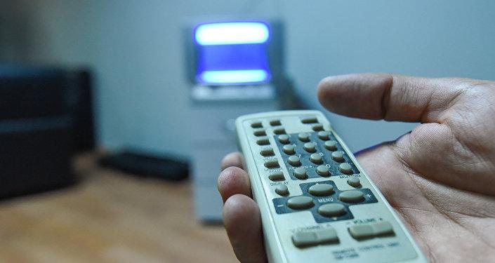 Пульт дистанционного управления телевизором, фото из архива