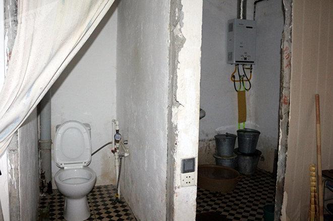Hamam və sanitar qovşağının vəziyyəti