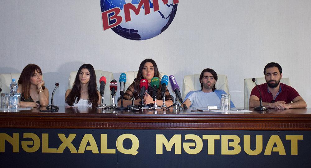 Пресс-конференция Оксаны Расуловой