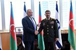 Встреча министров обороны Азербайджана и Израиля Закира Гасанова и Авигдора Либермана