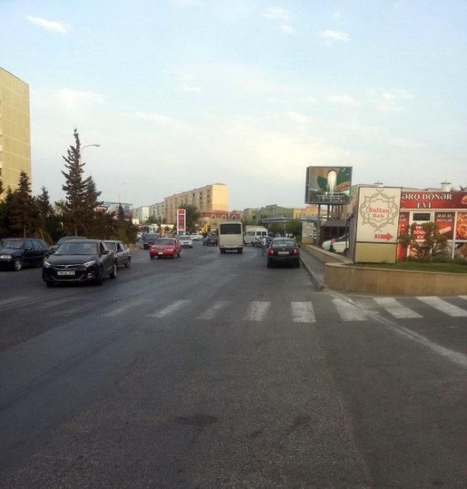 Улица Бабека в Сумгайыте