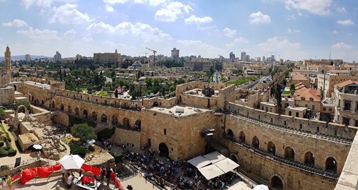 Вид с башни Давида на Иерусалим, фото из архива