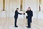 Президент Ильхам Алиев принял верительные грамоты новоназначенного посла Венгрии в Азербайджане