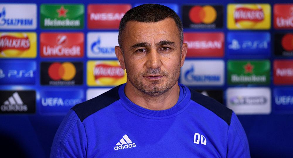 """Qurban Qurbanov: """"Futbolçuları bu səbəbdən başıma yığdım"""""""