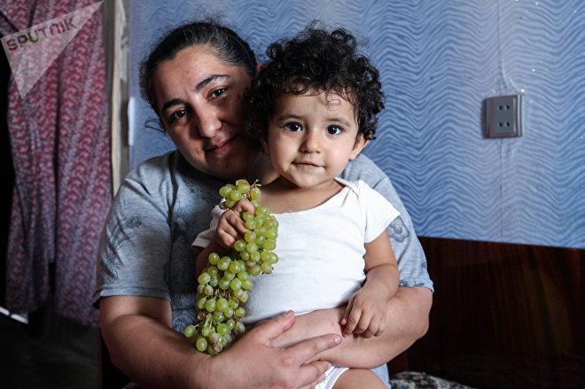 Тамилла Магеррамова с дочерью Камиллой