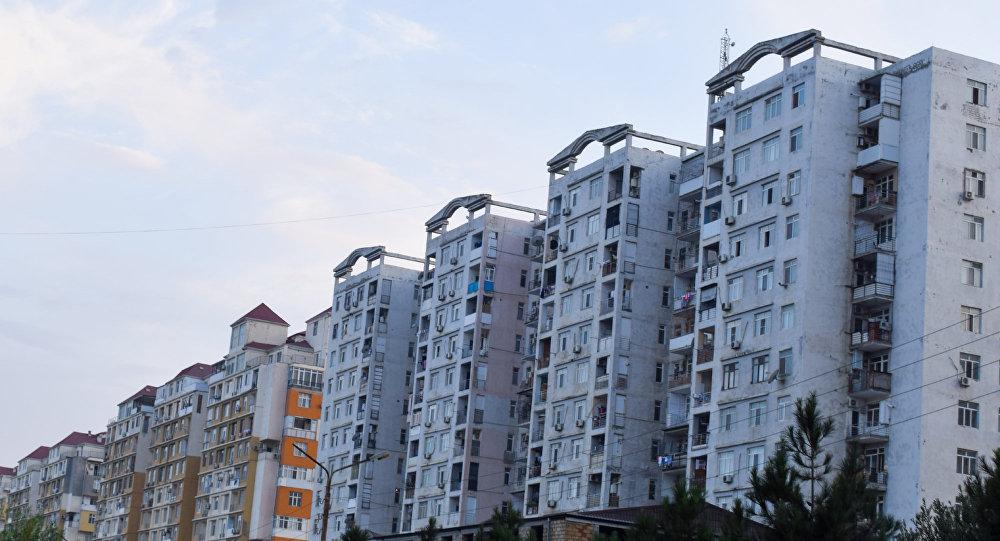 Жилые дома в Баку, фото из архива