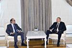 İlham Əliyev Beynəlxalq Valyuta Fondunun Orta Şərq və Mərkəzi Asiya Departamentinin direktorunu qəbul edib