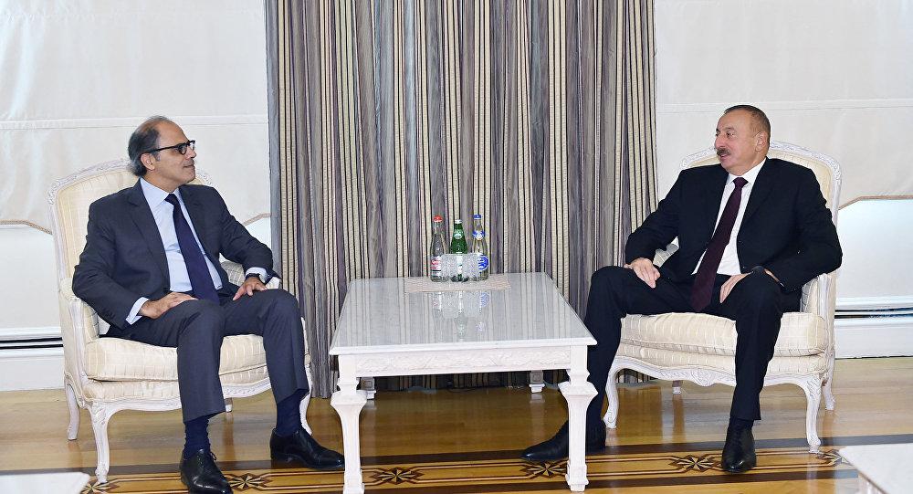 Ильхам Алиев принял директора Департамента стран Ближнего Востока и Центральной Азии Международного валютного фонда