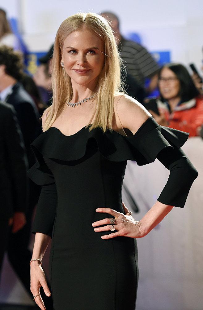 Николь Кидман на фестивале представляла ленту Неприкасамые, официальная премьера которой состоится в марте будущего года.
