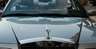 Автомобиль Rolls Royce, фото из архива
