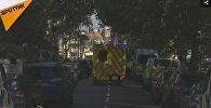 LIVE: Ситуация возле станции метро в Лондоне, где произошел взрыв