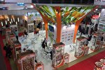 Стенд Армении на  Международной выставке продуктов питания WorldFood Moscow, фото из архива