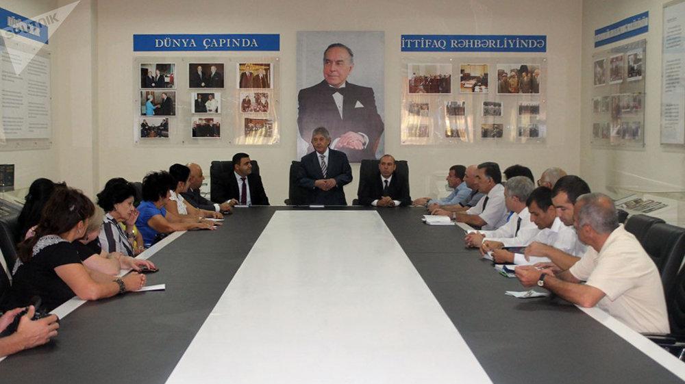 Презентация книги Палитра азербайджанцев мира в Ташкенте