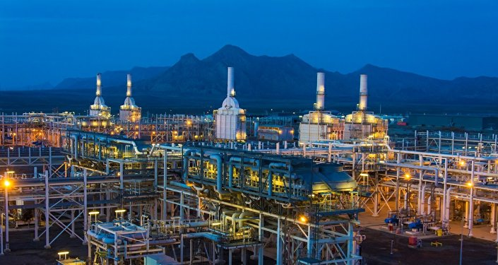 Сангачальский нефтегазовый терминал, фото из архива