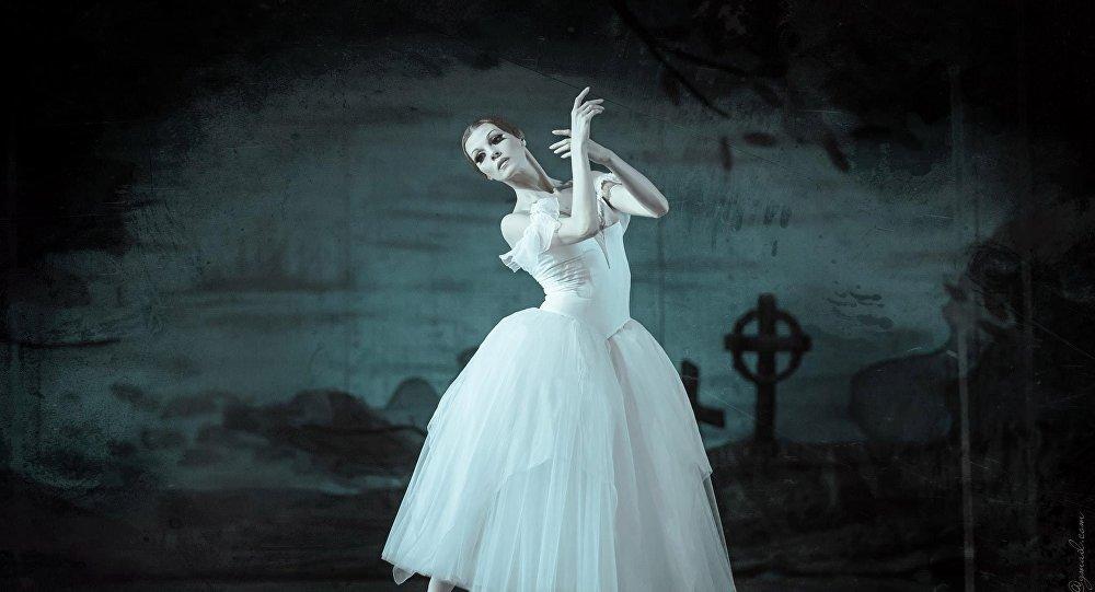 Народная артистка Украины Татьяна Голякова в роли Жизель, фото из архива