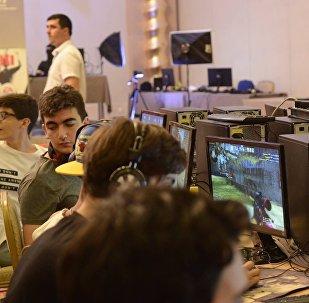 Чемпионат Азербайджана по компьютерным играм среди молодежи, фото из архива