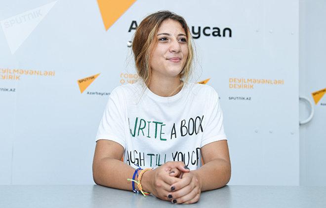 Член женской национальной сборной Азербайджана по боксу Марьям Джабраилова