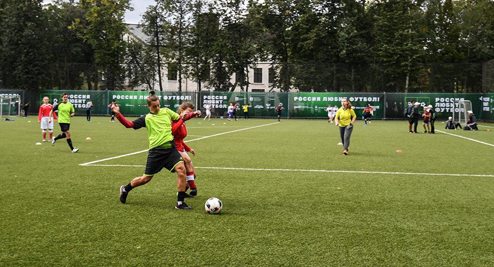 Фестиваль Россия любит футбол