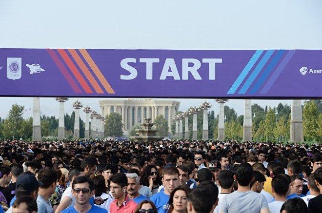 Гянджинский марафон-2017