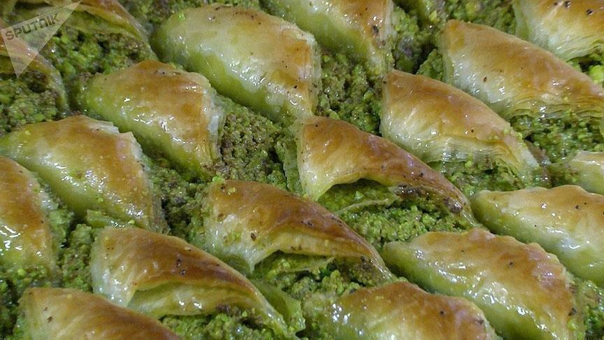 Турецкая пахлава славится на весь мир