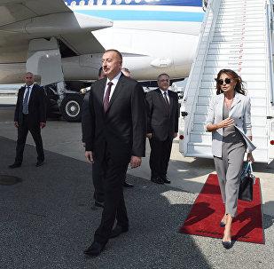 Prezident İlham Əliyev və birinci xanım Mehriban Əliyeva Nyu-Yorkda