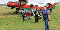 Международный турнир по прыжкам с парашютом для инвалидов