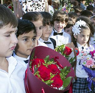 День знаний в Баку, фото из архива