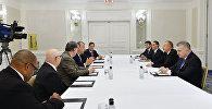 Президент Азербайджана Ильхам Алиев встретился в Нью-Йорке с председателем Фонда этнического взаимопонимания США раввином Марком Шнайером