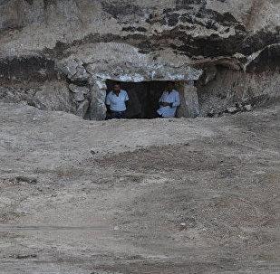 Курган на территории села Амирвар Дашкесанского района