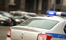 Rusiyada polis avtomobili