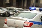 Полицейский автомобиль в Москве, фото из архива