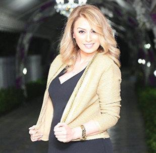 Азербайджанская певица Роза Зяргярли, фото из архива