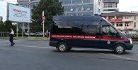 Rusiya Federasiyası İstintaq Komitəsinin avtomobili, arxiv şəkli
