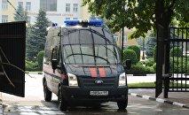 Rusiya İstintaq komitəsinin avtomobili, arxiv şəkli