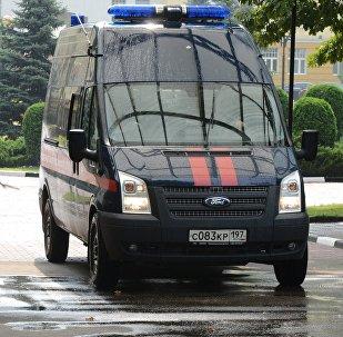 Автомобиль Следственного комитета РФ в Москве, фото из архива