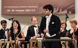 Концерт Новосибирского филармонического камерного оркестра в рамках Международного музыкального фестиваля Узеира Гаджибейли.