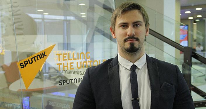 Политолог Никита Данюк