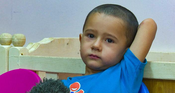 Абдулла из детского приюта в Багдаде