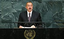 Azərbaycan prezidenti İlham Əliyevin BMT Baş Assambleyasının 72-ci sessiyasında çıxışı