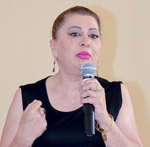 Председатель Союза детей Азербайджана Кямаля Агазаде