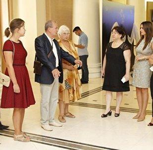 Azərbaycan–Rusiya festivalının qalibləri ilə görüş