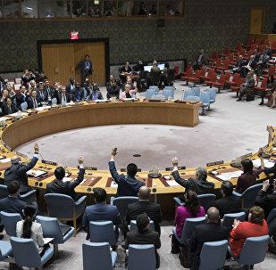 Голосование в Совете безопасности ООН, фото из архива