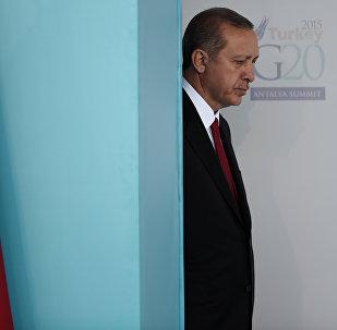 Türkiyə prezidenti Rəcəb Tayib Ərdoğan, arxiv şəkli