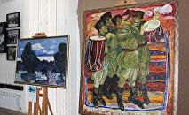 Картины Асафа Джафарова, фото из архива